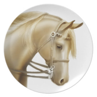 The Favorite Riding Horse Plate