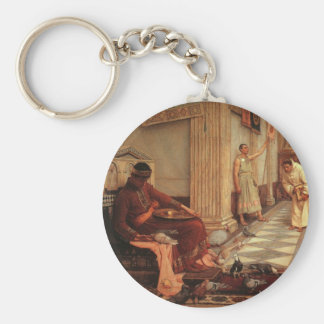 The Favorites of the Emperor Honorius Basic Round Button Keychain