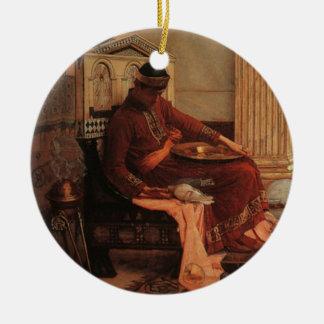 The Favorites of the Emperor Honorius Ceramic Ornament