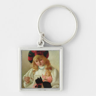 The Favourites, 1895 (oil on canvas) Keychain