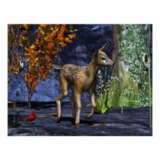 The Fawn Poster