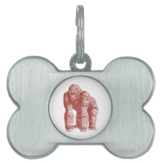 THE FEARLESS ONE PET ID TAG