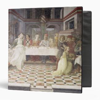 The Feast of Herod (fresco) (see also 60432) Vinyl Binders