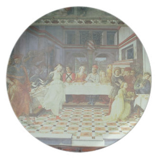 The Feast of Herod, from the cycle of The Lives of Melamine Plate