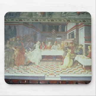 The Feast of Herod, from the cycle of The Lives of Mouse Pad
