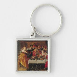 The Feast of Herod Keychain