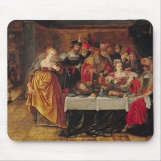 The Feast of Herod Mouse Pad