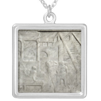 The Feast of Herod Silver Plated Necklace