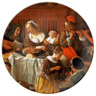 The Feast of St.Nicholas. Christmas Gift Plates