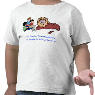 The Feast of Tabernacles Childern, Lion and, Lamb T Shirts