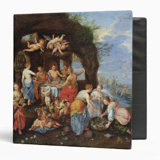 The Feast of the Gods Vinyl Binder