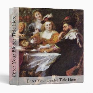 The Feast Of The Herododes By Rubens Peter Paul Binders
