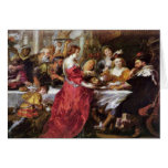 The Feast Of The Herododes By Rubens Peter Paul Greeting Card