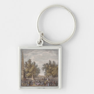 The Feast of Virgil at Mantua, 24 Vendemiaire, Yea Keychain
