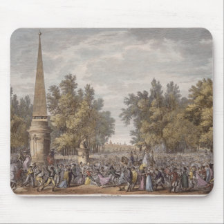 The Feast of Virgil at Mantua 24 Vendemiaire Yea Mouse Pad