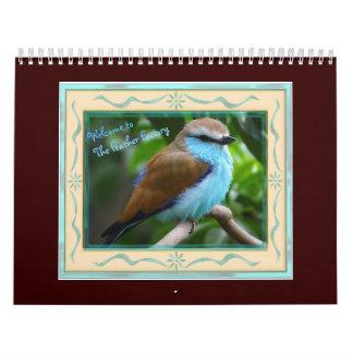 The Feather Factory Calendar
