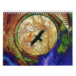 The Feathered Lady Calendar