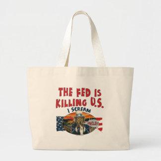 The Fed is Killing U S Tote Bags