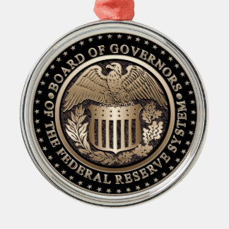 The Federal Reserve Metal Ornament