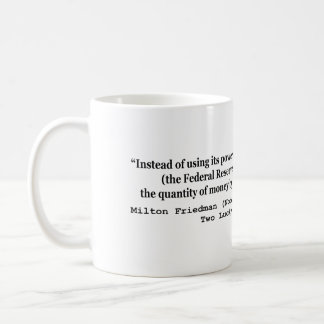 The Federal Reserve & The Great Depression Classic White Coffee Mug