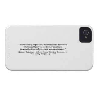 The Federal Reserve & The Great Depression iPhone 4 Cover