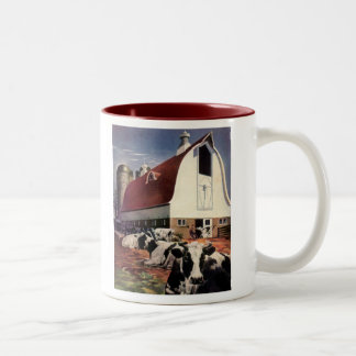 The Feed Lot Two-Tone Coffee Mug
