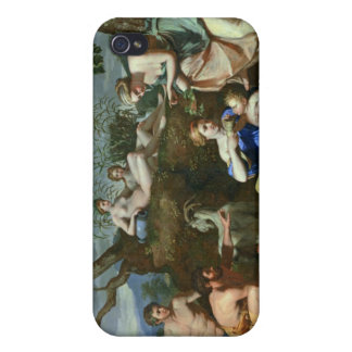 The Feeding of the Child Jupiter, c.1640 Cases For iPhone 4