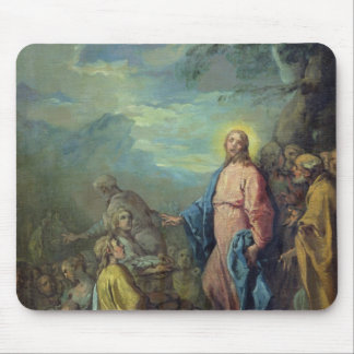 The Feeding of the Five Thousand, before 1733 Mouse Pad