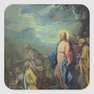 The Feeding of the Five Thousand, before 1733 Square Sticker