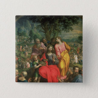 The Feeding of the Five Thousand, c.1590 Button