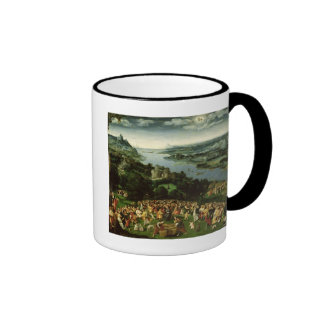 The Feeding of the Five Thousand Ringer Coffee Mug