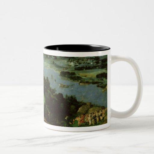 The Feeding of the Five Thousand Two-Tone Coffee Mug