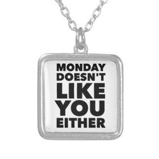 The Feeling's Mutual Silver Plated Necklace