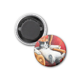 """The Feline Perspective"" Magnet"