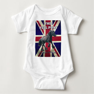 """The Fell Pony -- True Brit -- Made In England"" Baby Bodysuit"
