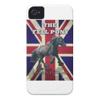 """""""The Fell Pony -- True Brit -- Made In England"""" Case-Mate iPhone 4 Cases"""