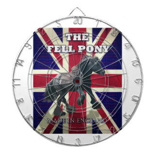 """The Fell Pony -- True Brit -- Made In England"" Dart Board"