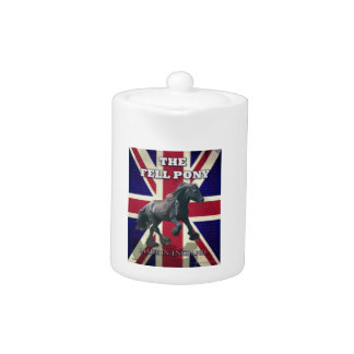 """""""The Fell Pony -- True Brit -- Made In England"""" Teapot"""