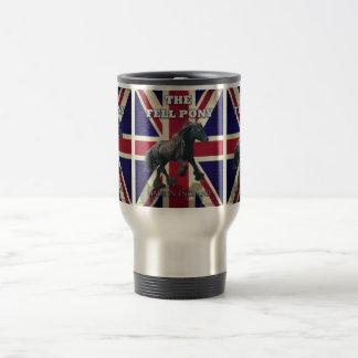 """The Fell Pony -- True Brit -- Made In England"" Travel Mug"