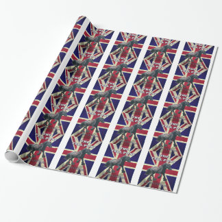 """""""The Fell Pony -- True Brit -- Made In England"""" Wrapping Paper"""