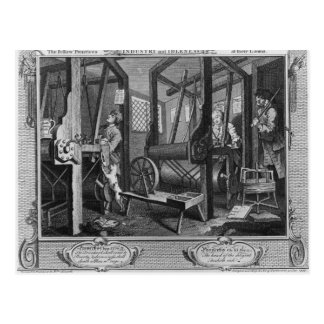 The Fellow 'Prentices at their Looms Postcard