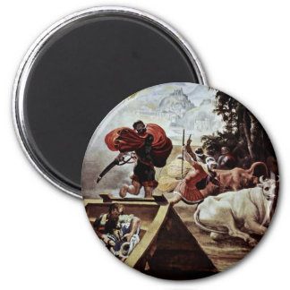 The Fellowship Of Odysseus Steal The Cattle 2 Inch Round Magnet