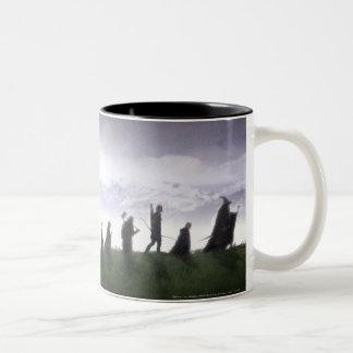 The Fellowship of the Ring Two-Tone Coffee Mug