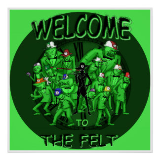The Felt - Welcome to the Felt Poster