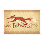 The Felted Fox Gallery Wrapped Canvas