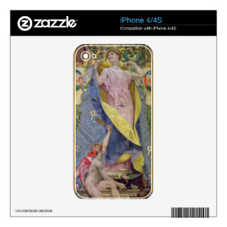 The Feminine Toilet (panel) iPhone 4S Decals