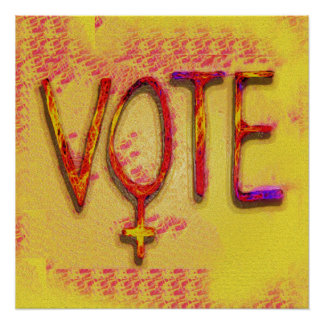 The Feminist Vote by Aleta Poster