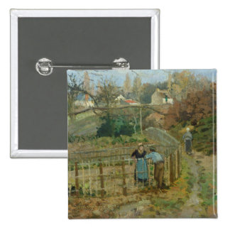 The Fence, 1872 (oil on canvas) Pins