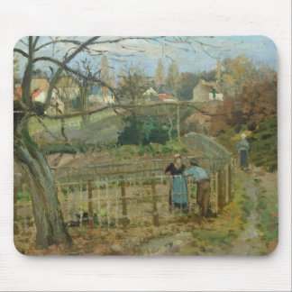 The Fence, 1872 (oil on canvas) Mouse Pad