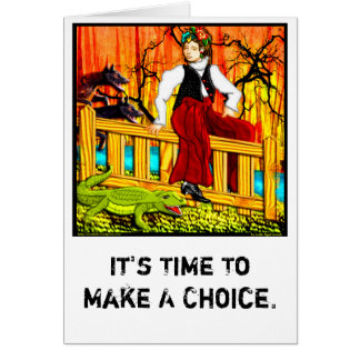The Fence Sitter (Personalized) Cards